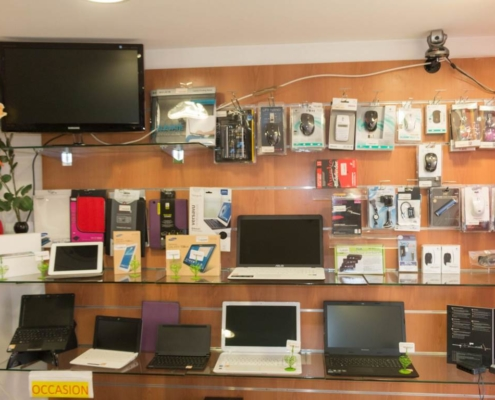 Boutique vente matériels informatique